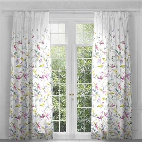summer curtains voyage jarvis summer curtain panels pair in ready made