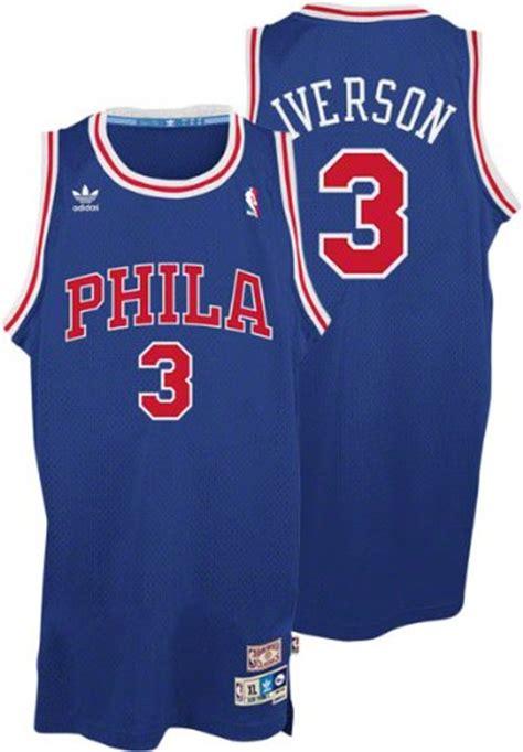 Best Mba New Jersey by Nba Adidas Allen Iverson Philadelphia 76ers Soul Swingman