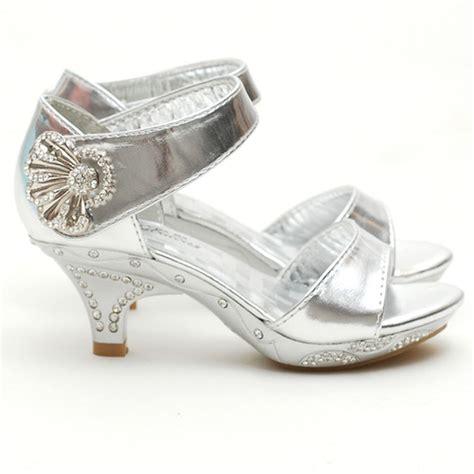 toddler silver shoes fabulous silver rhinestone dress heel shoe toddler