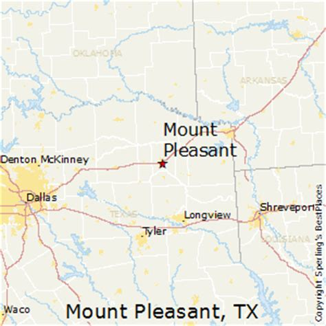 mt pleasant texas map best places to live in mount pleasant texas