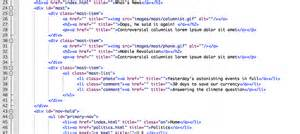 html code template on j r carpenter s gorge part 2 5 html web pages and