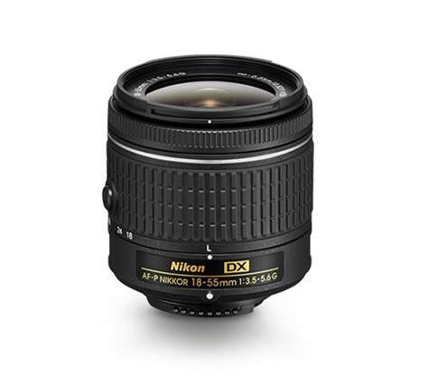 Lensa Nikkor Af P 18 55mm F3 5 5 6g Vr For Nikon Dslr af p dx nikkor 18 55mm f 3 5 5 6g interchangeable lens