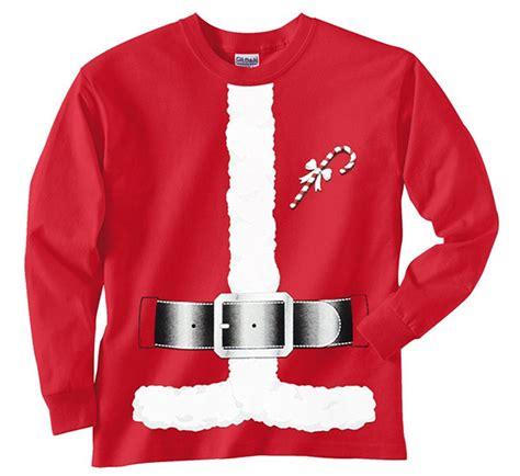 santa claus costume t shirts