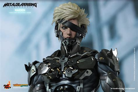 Kaos Raiden Metal Gear Rising toys metal gear rising revengeance raiden the toyark news