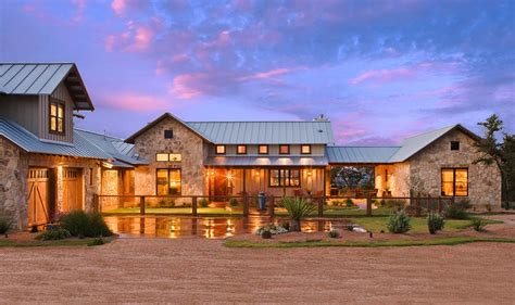 ranch homes rustic ranch house designed for family gatherings in texas