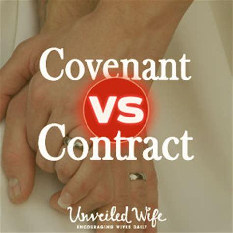 covenant vs contract