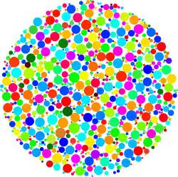 colorful circles clipart colorful circle fractal 3