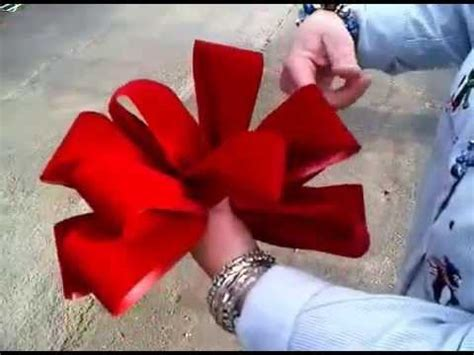 youtube how to make a silver xmas bow velvet bows