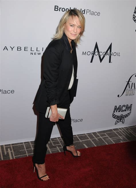Fashion News From Robin by Robin Wright At The Daily Front Row Fashion Media Awards