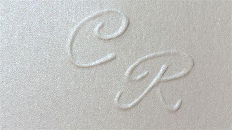lettere iniziali come fare le iniziali in rilievo nozzeggiando