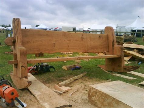 chainsaw bench pin by ray mowen on chainsaw carving pinterest