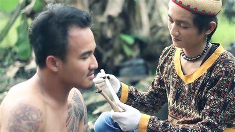 tato has dayak tato tradisional dayak youtube