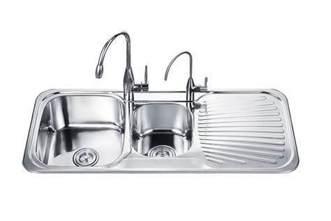 Kitchen Sinks With Drainboard Stainless Steel Sink With Drainboard Roselawnlutheran