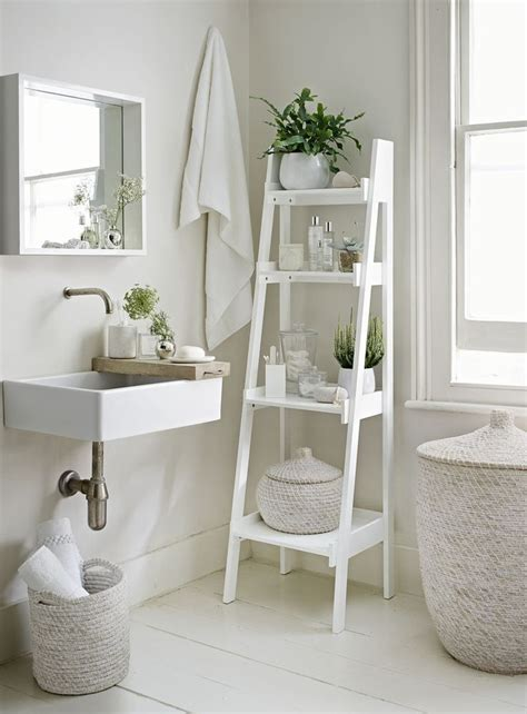 small bathroom shelf ideas 25 best ideas about white ladder shelf on