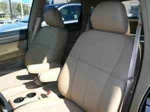 Seat Covers For Honda Crv Clazzio Covers 07 10 Honda Cr V Leather Seat Covers