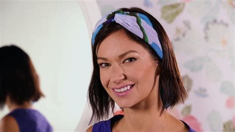 hairstyles with scarf headbands short hair styling idea wear a scarf as a headband more com