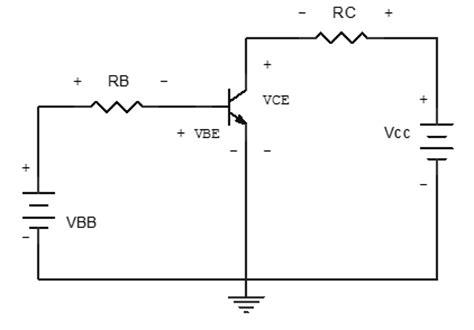 gambar rangkaian transistor common emitor konfigurasi rangkaian transistor bjt robotika uns