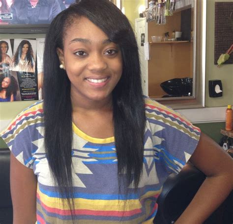 sew ins with bangs flip side bang sew in hair styles pinterest sew