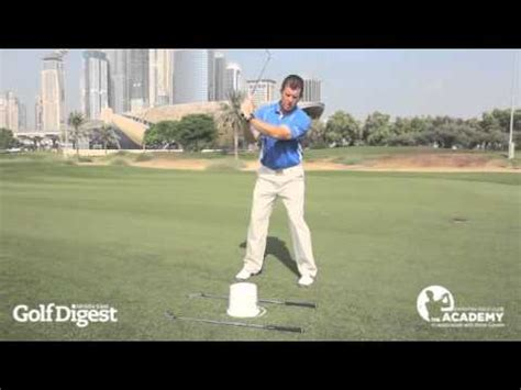 pete cowen swing tips improve your golf swing with pete cowen s axe drill youtube
