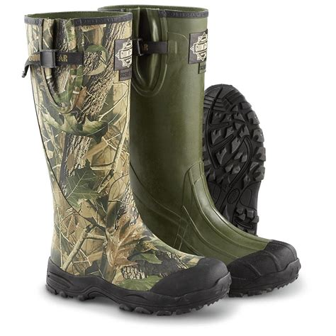 s guide gear 174 non insulated ankle fit rubber boots