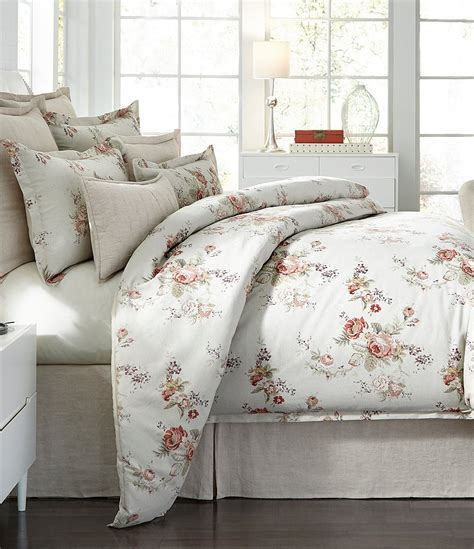 southern bedding southern living charlotte floral cotton comforter mini set