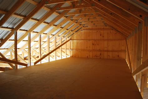 Garage Attic Trusses by Board And Batten Garage Onsite Pennsylvania Maryland And