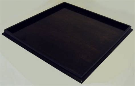 extra large black ottoman extra large ebony stained ottoman tray woodworking