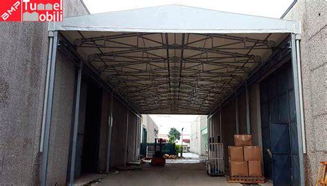 tettoia in pvc nuova tettoia in pvc di bmp tunnel mobili a prato
