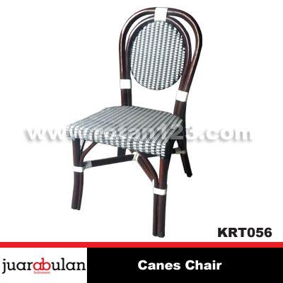 Kursi Rotan Alami harga jual canes chair kursi rotan alami sintetis krt056