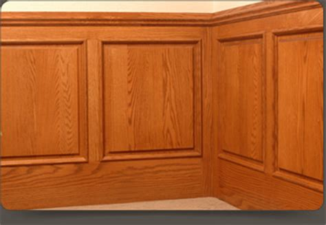 Raised Wood Panels Wainscoting Custom Wainscot Panels Walzcraft