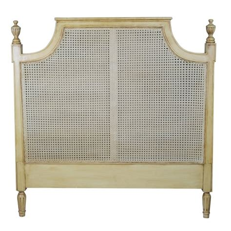 rattan headboard 4ft6 size 5ft king size