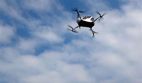 designboom drone passenger drones will provide taxi service in dubai this