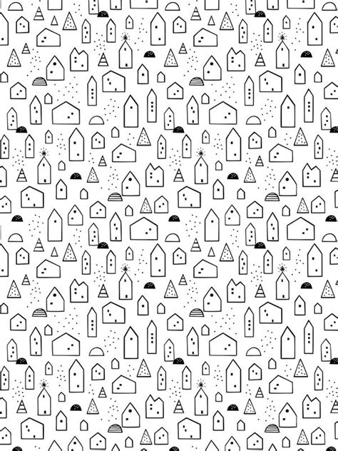 printable wrapping paper to color free download little house wrapping paper scandinavian