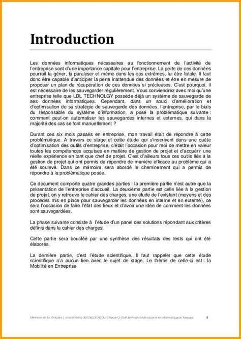 Exemple De Lettre De Remerciement Memoire 12 M 233 Moire Exemple Lettre Administrative