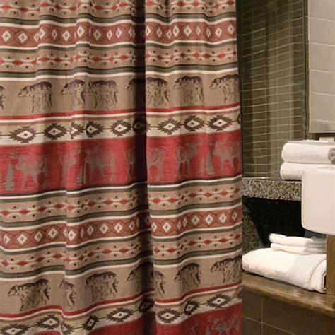 adirondack curtains adirondack shower curtain jb1104