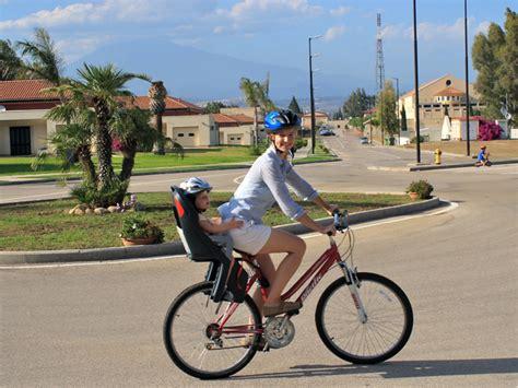 Bike Helmet Giveaway - closed child bike seat helmet giveaway becca garber