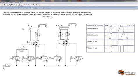 a b circuito neum 225 tico a b a b con fluidsim youtube