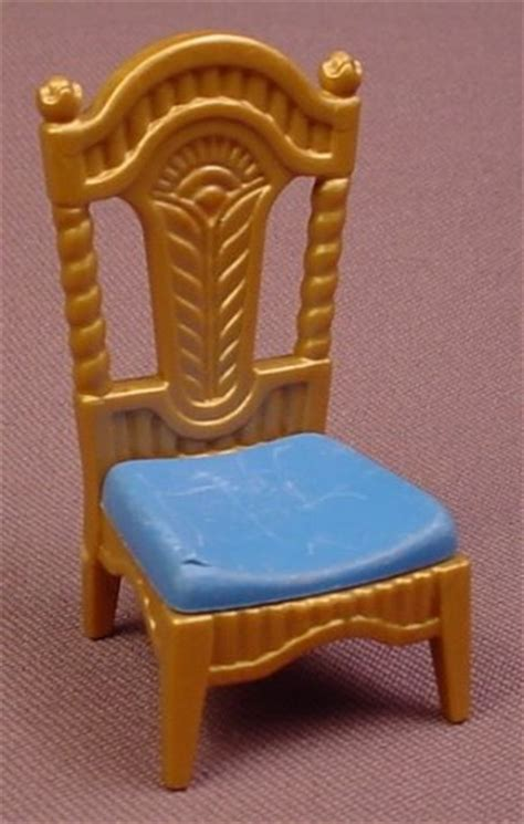 Dining Room Chair Cushions Blue Playmobil Gold Ornately Carved Dining Room Chair With A
