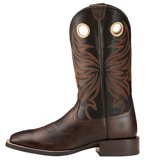 Wst 7268 Ethnic Dress Brown Size L s ariat 174 sport rider western traditional boot