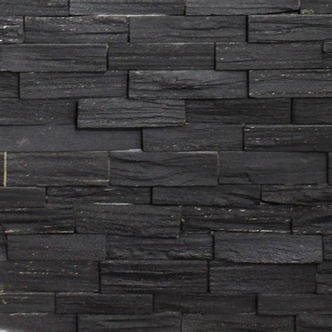 Jet Black Ledgestone   SALE   Tile Stone Source