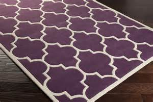 Purple Area Rugs Artistic Weavers Transit Piper Awhe2016 Purple White Area Rug