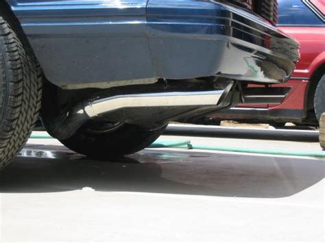 3 quot exhaust tailpipes