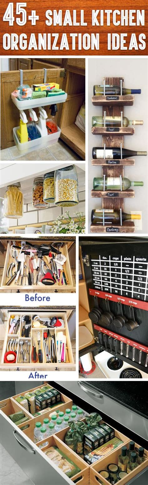 ideas for kitchen storage in small kitchen 45 small kitchen organization and diy storage ideas