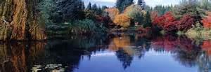 vandusen park vancouver bc gardens tourism attractions images pictures photographs nature
