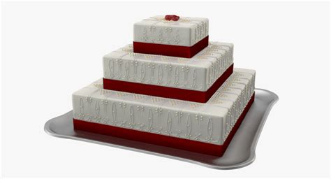 Wedding Cake Model by 3d Wedding Cake Model