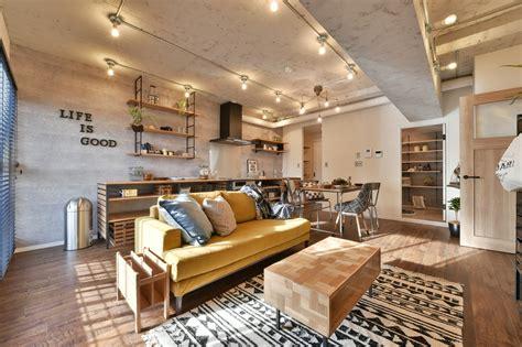irresistible industrial living room designs