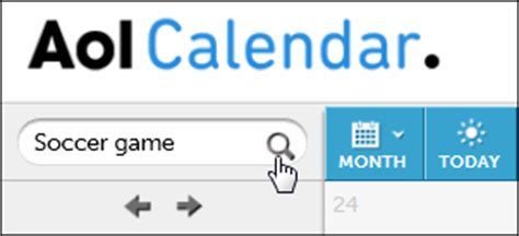 Aol Calendar Aol Mail Features And Actions Aol Help