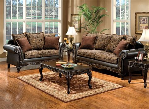 Upholstery Places by Classic Sofa Set Fa7630 Traditional Sofas