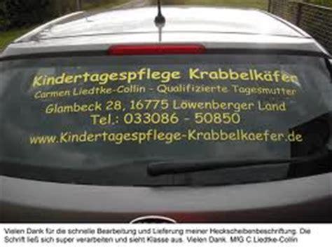 Sind Heckscheibenaufkleber Erlaubt by Heckscheibenaufkleber Werbebotschaften F 252 R Die Heckscheibe