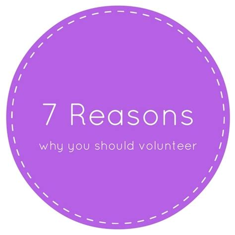 7 Reasons Why Is For You by 7 Reasons Why You Should Volunteer At Your Kid S School